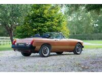 1981 MGB LE Roadster