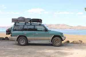 Stop. Better than a van: Our 4WD. Mitsubishi Pajero 1997. East Carnarvon Carnarvon Area Preview