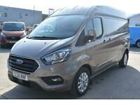 2020 Ford Transit Custom 300 LIMITED LWB HIGH ROOF L2 H2 SAT NAV REV CAM TWIN S