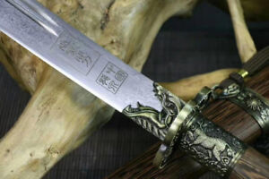 Chinese Dao  -1060 High Carbon Folded Steel - (broad sword)
