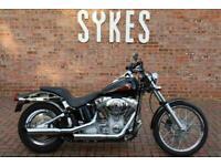 2002 Harley-Davidson FXSTI Softail Standard in Black