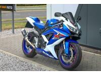 2009 SUZUKI GSX-R600 in BLUE and WHITE