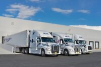 Now Hiring: Class 1 Drivers - Regional and Long Haul Drivers
