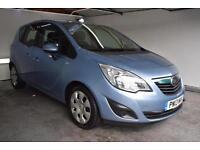 2013 13 Vauxhal Meriva Auto 1.7CDTi 16v 110 a/c Exclusiv AUTOMATIC, Diesel,