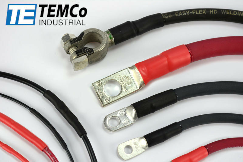 TEMCo Industrial HD Marine Heat Shrink Tube 3:1 Adhesive Glue Lined 4 ft long
