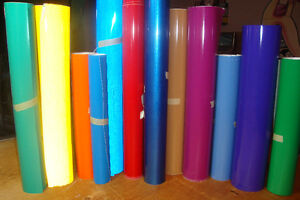 High Quality Permanent Adhesive Backed Vinyl
