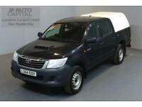 TOYOTA HI-LUX 2.5 ACTIVE 4X4 D-4D DCB 5D 142 BHP MWB A/C REAR TOW FITTED