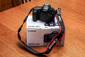 Canon 60D Body Only 7k actuations. Priced to sell.