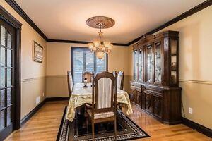 Dinning room set(solid oak) West Island Greater Montréal image 4
