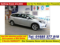 2012 - 62 - FORD FOCUS ECONETIC 1.6TDCI 5 DOOR ESTATE (GUIDE PRICE)