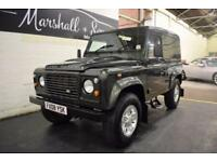 2008 08 LAND ROVER DEFENDER 90 2.4TD 90 COUNTY HARD TOP 1D 122 BHP DIESEL