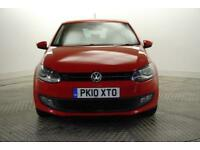 2010 Volkswagen Polo MODA Petrol red Manual