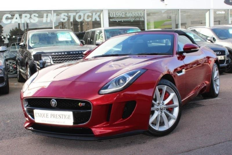 2014 Jaguar F-TYPE V6 S Quickshift Petrol red Automatic | in Hoddesdon,  Hertfordshire | Gumtree