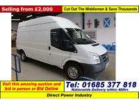 2007 - 07 - FORD TRANSIT T350 2.4TDCI 115PS HIGH-TOP RWD LWB VAN (GUIDE PRICE)