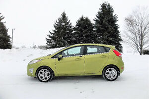 2013 Ford Fiesta Titanium- Hatchback.  4 NEW SNOW TIRES!!  $8750