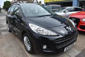 GOOD CREDIT FINANCE AVAILABLE 2012 12 reg Peugeot 207 SW 1.6HDi