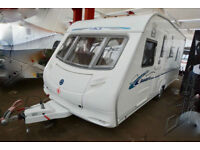 2007 ACE Tristar 4 Berth Touring Caravan with Island Bed