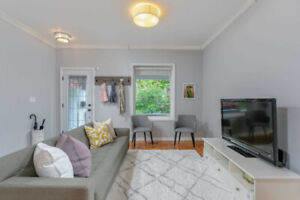 Leslieville 3 bed 3 bath w/ awesome patio and finished basement