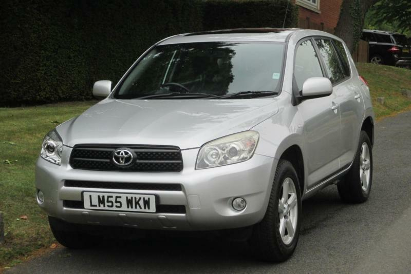 Toyota RAV4 2.0 XT4 Station Wagon 5dr AUTO (2006) Full Black Leather Seats