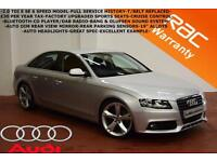 2010 Audi A4 2.0TDIe ( 136ps ) SE-£30 TAX-CRUISE-BANG+OLUFSEN SOUND-DAB-