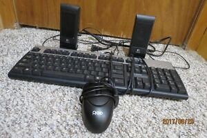 Mouse , Keyboard, Speakers