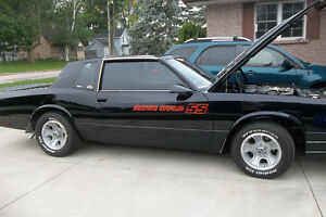86 MONTE SS FOR SALE-- EXCELLENT CONDITION-SEE PHOTOS