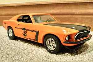 Ertl: 1969 Ford Boss Mustang & Trailer & 1966 Ford F-100 Truck Cambridge Kitchener Area image 1