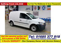 2012 - 12 - VOLKSWAGEN CADDY C20 1.6TDI 102PS VAN (GUIDE PRICE)