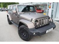2014 Jeep Wrangler 2.8 CRD Sahara Unlimited 4x4 5dr Diesel black Automatic
