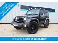 2011 11 JEEP WRANGLER 2.8 70TH ANNIVERSARY CRD 2D AUTO 197 BHP DIESEL