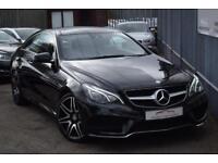 2014 Mercedes-Benz E Class E250 Coupe 2.1CDi 204 SS AMG Sport 7GT+ Diesel black