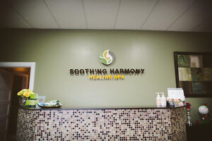 Nail Table space for Rent at Soothing Harmony Healing Spa Edmonton Edmonton Area image 2