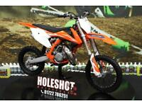 KTM SX 85 Motocross bike Orange frame