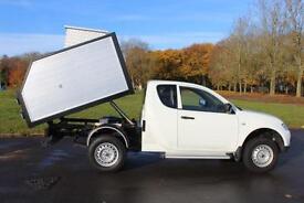 Mitsubishi L200 2.5DI-D TREE/ARB TIPPER 4WD Club Cab 17,000 Miles £13,895 + VAT