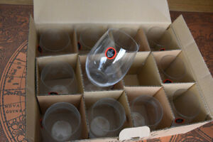 Riedel Cabernet/Merlot Stemless Glassware - new in packaging