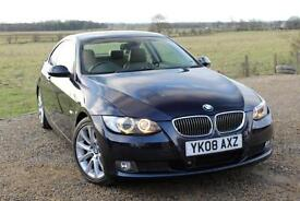 2008/08 BMW 330i SE COUPE, GENUINE 49,000 Miles, Manual