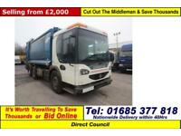 2006 - 55 - DENNIS ELITE 2 6X2 26 TON PHOENIX REFUSE (GUIDE PRICE)
