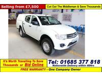 2014 - 64 - MITSUBISHI L200 4WORK 2.5D4-D 4X4 5 SEAT DOUBLE CAB PICK UP