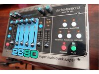 ELECTROHARMONIX EHX 2880 Looper - Loop Station and footswitch (boxed)