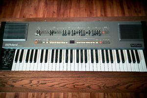 Roland HS60 ( Juno 106 ) synth