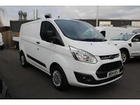 Ford Transit Custom 2.2TDCi 100PS 270 L1H1 Trend in Frozen White + F&R Sensors
