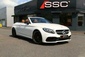 image for Mercedes-Benz C Class 4.0 C63 V8 BiTurbo AMG S Edition 1 Cabriolet SpdS MCT (s/s