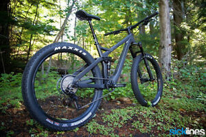 2017 devinci marshall carbon slx/xt 27.5 plus for sale or trade