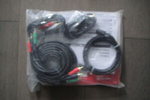 New sealed whole Package ROGERS TV Cables