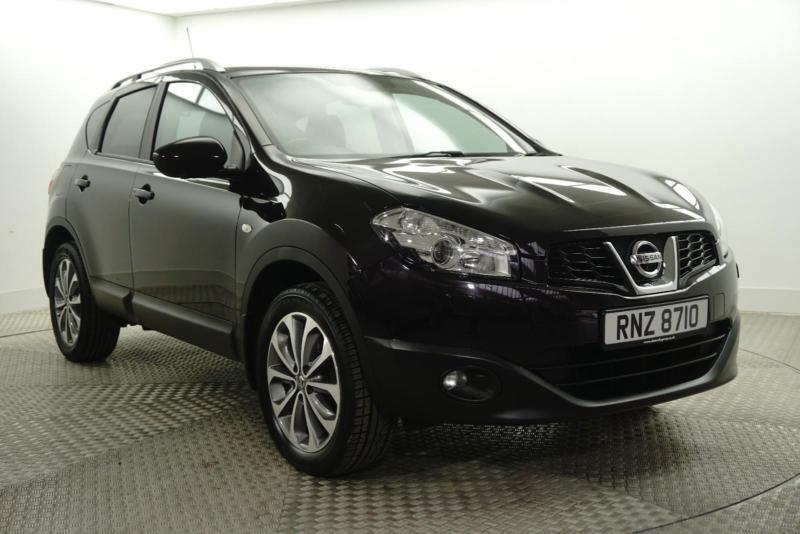 2012 Nissan Qashqai TEKNA IS Petrol black Manual
