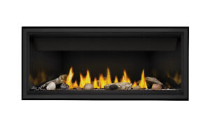 LINEAR GAS FIREPLACE (direct vent) - $1,450