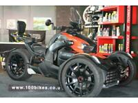 2019 BRP CAN-AM RYKER RALLY EDITION 900 AUTO TRIKE EXTRAS 3,600 MILES