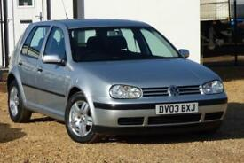 2003 Volkswagen Golf 1.9 TDI PD Match 5dr