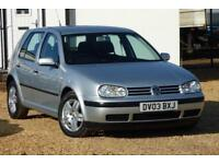 2003 Volkswagen Golf 1.9 TDI PD Match 5dr