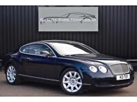 Bentley Continental GT 6.0 W12 * Dark Sapphire + Portland w.Blue Nautic Hide *